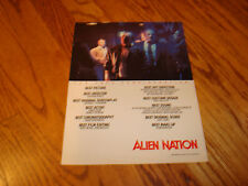 ALIEN NATION 1988 Oscar ad James Caan, Mandy Patinkin, Terence Stamp