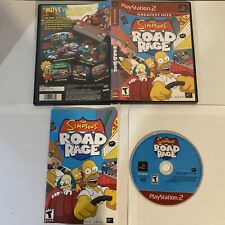 Simpsons Road Rage PlayStation 2, Complete Authentic
