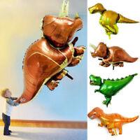 New 1PC Cartoon Dinosaur Foil Balloon Birthday Party Supplies Toy Home Decor