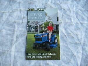 Ford LGT LT YT lawn garden tractor and attachments mini brochure