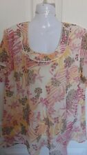 =   LOVELY AUTONOMY LINED TOP SIZE 22