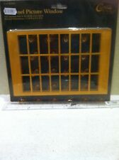 Dolls House 1:12th Scale Wooden 24 Panel Picture Window From Handley