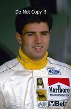 Christian Fittipaldi Minardi F1 PORTRAIT PHOTOGRAPHIE DE 1993