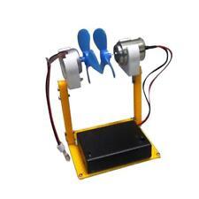 Micro DIY Wind Turbine Small Wind Generator DC Motor Turbines Fan Kids Toys