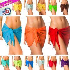 Coqueta Mesh Bikini Swimwear Cover Up for women Sarong skirt Swimsuit wrap new