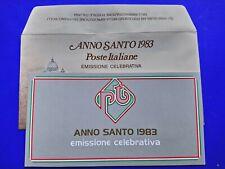 🔵 REPUBBLICA FRANCOBOLLI ITALIA ANNO SANTO 1983 FOLDER E BUSTA GIOVANNI PAOLO🤣