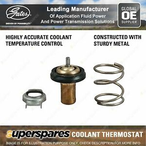 Gates Thermostat + Gaskets for Fiat Freemont 345 JC Wagon 2.0L 125kW 2011-On