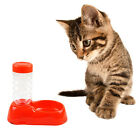 Automatic Pet Dog Cat Water Drink Bottle Feeder Food Bowl Dish Dispenser New
