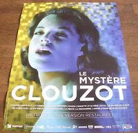 LE MYSTERE CLOUZOT - Romy Schneider - DOSSIER PRESSE AFFICHE 40CM/60CM (2017)