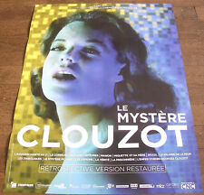 LE MYSTERE CLOUZOT - DOSSIER PRESSE AFFICHE 40CM/60CM + PLAQUETTE (Edition 2017)