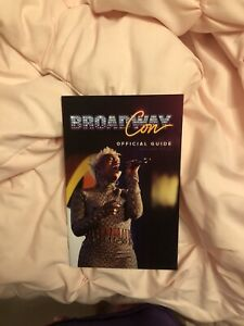 Broadway Con 2020 Playbill