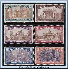 1924 Italia Regno Anno Santo n. 169/174 Nuovi Integri **