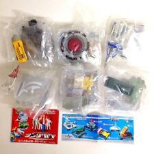 Thunderbirds Real Product Stage Meikan figure Full Set of 6 Bandai Japan