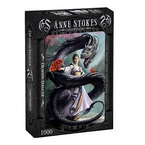Anne Stokes - DRAGON DANCER - 1000 Piece Jigsaw Puzzle,