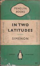 SIMENON, Georges In Two Latitudes