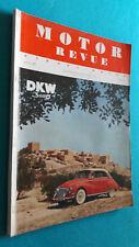 Motor Revue, Europa-Motor, Heft 21, Frühjahrsausgabe 1957