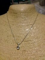 Fashion Jewellery Necklaces short/style silver tone chain/ tiny rinestone pendan