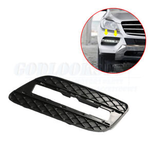 For Mercedes Benz ML350 ML550 12-15 Front Right Lower Bumper Grille DRL Cover