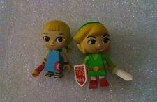 Legend of Zelda Yujin Zelda Link Windwalker Kubrick GASHAPON 2 Figure