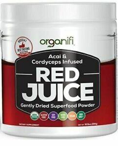 Organifi Red Juice sealed jar. Expires 2022. FREE SHIPPING. NO RETURNS