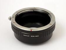 Anello conversione adattatore Corpo Sony-E/NEX Ottica Canon EOS