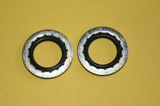 """2 x Petrol Tap Sealing Washers Dowty Type 1/4"""" BSP 70-7351 BSA Triumph"""