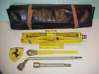 Ferrari 308 Jack Kit_Roll Bag_Lug Nut Wrench_Ratchet_Extension Tool 365 512 OEM