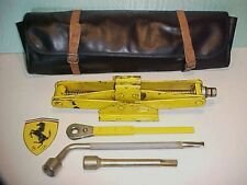 Ferrari 308 Jack Kit_Roll Bag_Lug Nut Wrench_Ratchet_Extension Tool 365 512 OEM