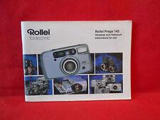 Bedienungsanleitung Rollei Fototechnic Rollei Prego 145 ca. 9x14