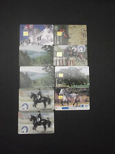 GRECE LOT 9 DIFFERENT PHONECARDS WITH THEME: HORSES GREECE GRECIA GRIECHENLAND
