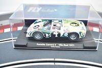 #88334 FLY CAR MODEL 1/32 SLOT CAR PORSCHE CARRERA 6 VILA REAL 1971 CARLO SANTOS