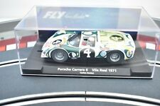 88334 FLY CAR MODEL 1/32 SLOT CAR PORSCHE CARRERA 6 VILA REAL 1971 CARLO SANTOS