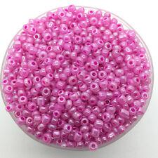 200pcs 3mm DIY Charm Czech Glass Seed Beads Craft Jewelry Making #3m25