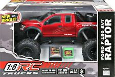 Kids RC 1:8 Radio Control Ford Raptor Truck 2 Wheel Drive, 2.4 GHz 12.8v