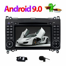 "7""Android 9.0 Car DVD GPS Player Head Unit Navi For Mercedes-Benz B200 B170 B180"