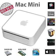 Apple Mac mini | Adobe CS6 | Ableton Live 10 | Final Cut Pro X | Logic Pro X |