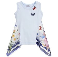 Monnalisa Butterfly Top 8 Years BNWT £78