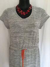 Size 14 Smart Flattering Comfy Grey Maxi Dress