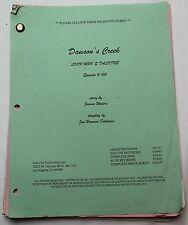 Dawson's Creek * 1997 Original TV Show Script * Season 1, Episode 6 * Baby