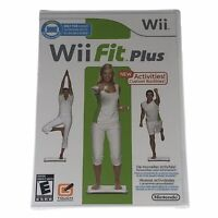 Wii Fit Plus (Wii, 2009) Brand New Sealed