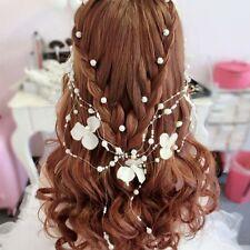Bridal Princess Wedding Hair Pins Clips Headdress Head Flower Hair Accessories