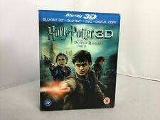 Harry Potter And The Deathly Hallows Part 2 (Blu-ray 3D + Blu-ray... - DVD  9MVG
