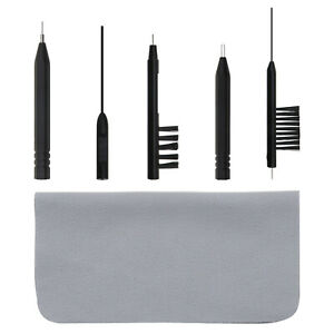 6Pcs Multifunctional Hearing Aid Disassembly Cleaning Tool Kit for Hear Aid