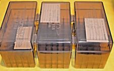 BERRY'S PLASTIC AMMO (3) 50 Rnd Storage Boxes For 303 British FREE SHIPPING