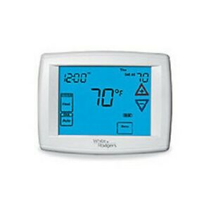 White-Rodgers 90 Series Blue Single Stage Thermostat, Automatic Heat/Cool Change