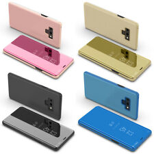 360 Plating Mirror Flip Phone Case Stand for Samsung Galaxy Note 10 Plus 9 / 8