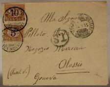 POSTA MILITARE 2^ DIVISIONE 10.9.1915 BUSTA SEGNATASSE 23° REGG. FANTERIA#XP247H