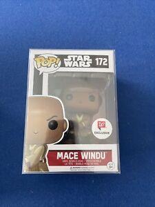 Funko Pop! Star Wars Mace Windu Vinyl Figure #172 Vaulted Exclusive RARE
