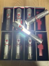 (8 Pack) NEBO 6267 Slyde Z Adjustable Zoom LED Flashlight / Worklight - Gray