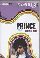 DVD PRINCE purple rain TELERAMA les icones du rock vol 6 serie 2